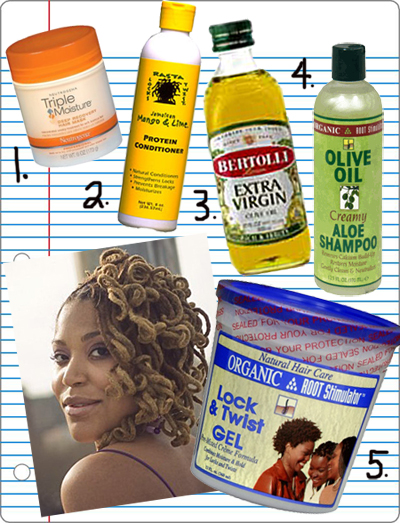 Natural Products To Use For Dreadlocks