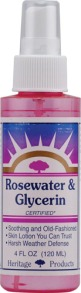 Heritage Products Rosewater and Glycerin is a powerful leave-in conditioning mist.